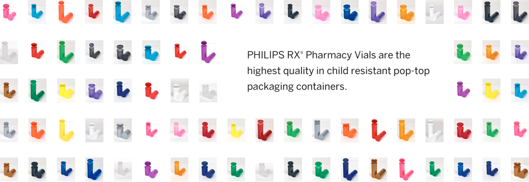 PHILIPS RX® Pharmacy Vials are the highest quality in packaging containers for collectives and dispensaries.